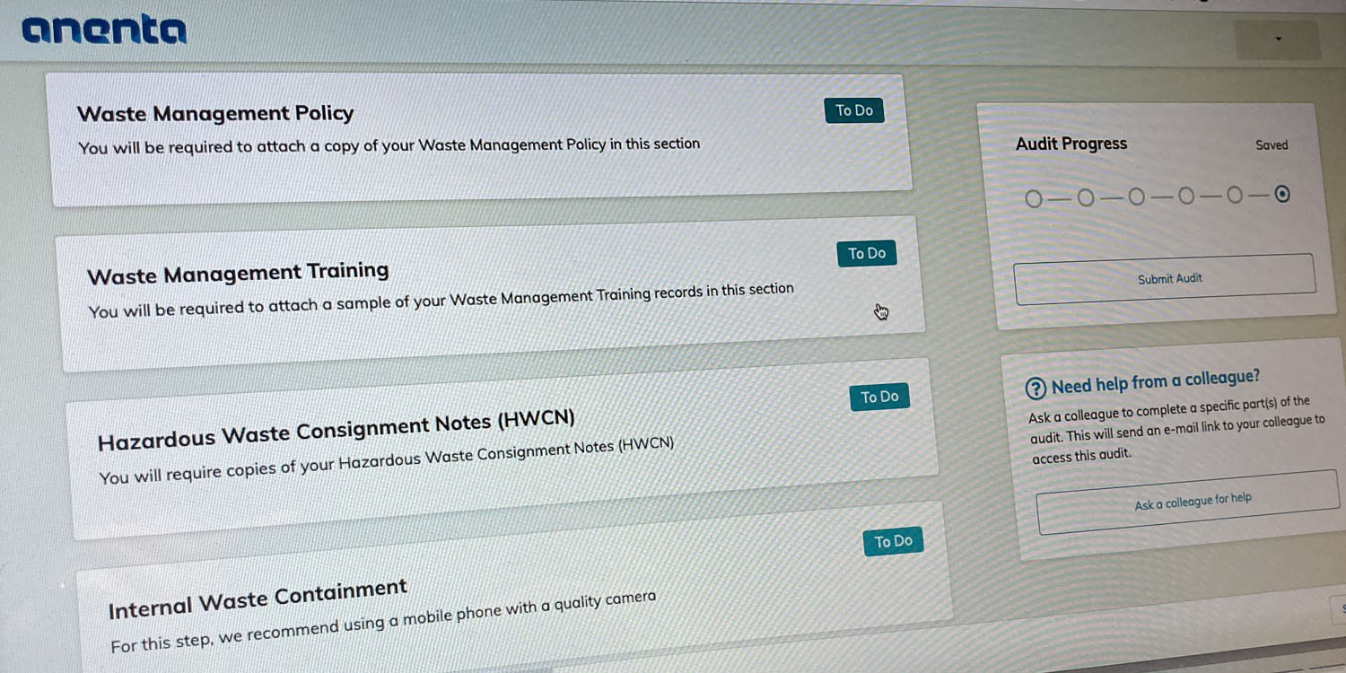 New Covid-19 app enables remote hazardous waste audit compliance for care home, primary care providers, GPs and pharmacies